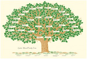 A Simple Family Tree - Why Not Keep Records of Family Genealogy?